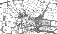 Old Map of Barkston, 1887