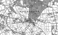 Old Map of Barlborough, 1884 - 1897