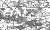 Old Map of Barnehurst, 1895 - 1907
