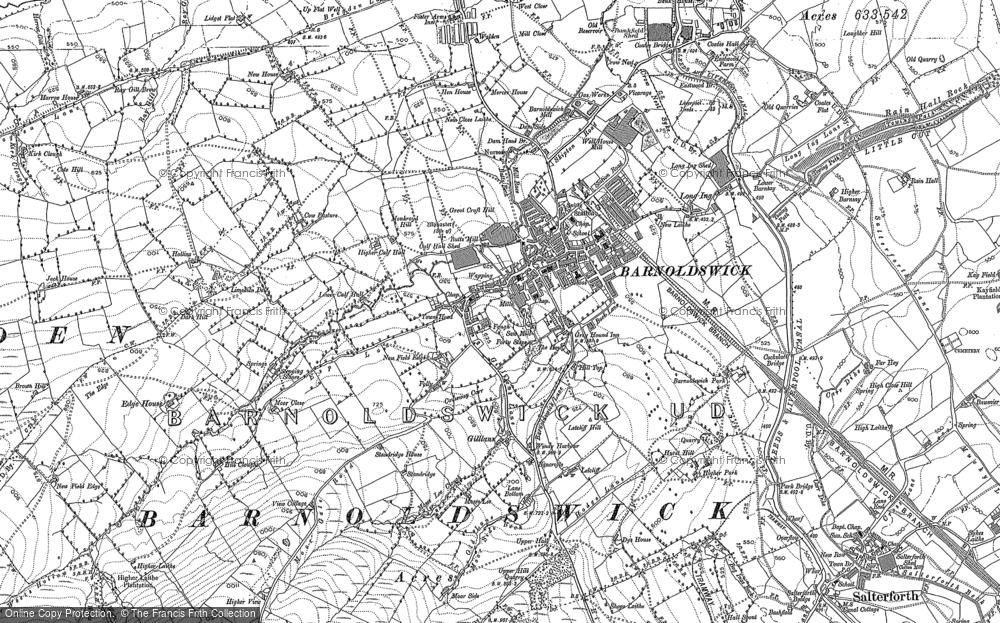 Barnoldswick, 1892 - 1907
