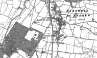 Old Map of Barnwell, 1885 - 1899