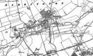 Map of Barrington, 1886