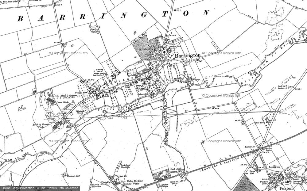 Barrington, 1886