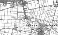 Old Map of Barrow Haven, 1886
