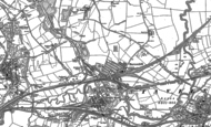 Old Map of Barrow Hill, 1876