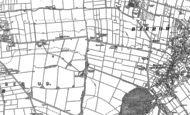 Old Map of Barrow Mere, 1886