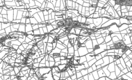 Old Map of Bartley Green, 1882 - 1902