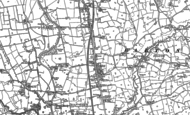 Old Map of Barton, 1892