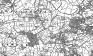 Old Map of Barton, 1904