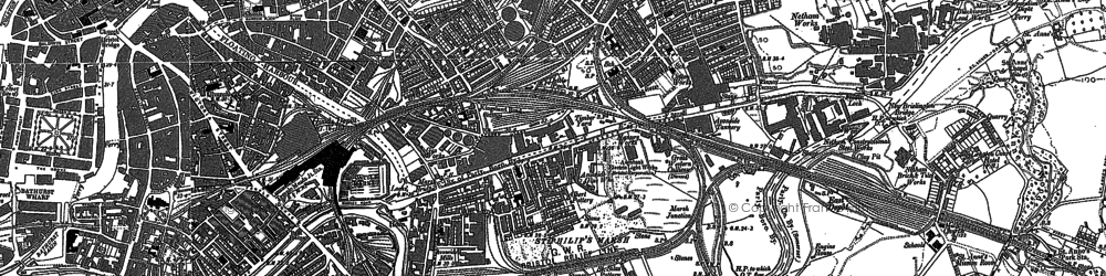 Old map of Barton Hill in 1902
