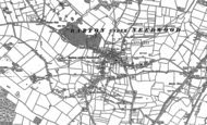 Old Map of Barton-under-Needwood, 1882 - 1900