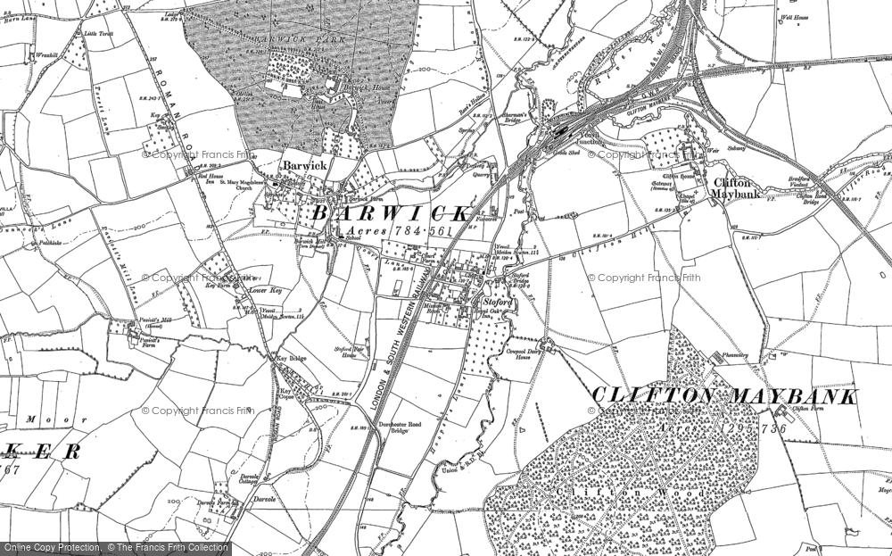 Map of Barwick, 1901