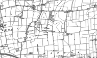 Old Map of Basildon, 1895