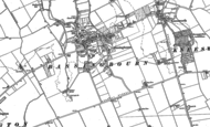 Old Map of Bassingbourn, 1885 - 1901