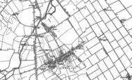 Old Map of Baston, 1886 - 1887