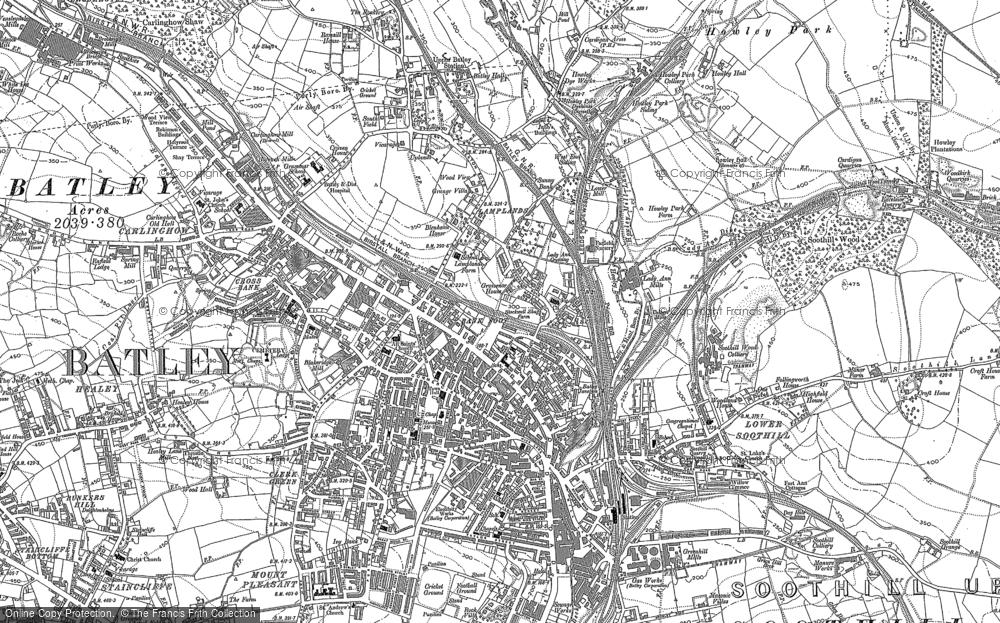Old Maps of Batley
