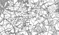 Old Map of Baughurst, 1894 - 1909