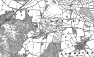 Old Map of Bawsey, 1897 - 1909