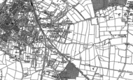 Old Map of Beacon Hill, 1884 - 1899