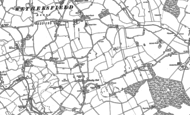Old Map of Beazley End, 1896