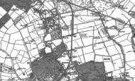 Old Map of Beddington Corner, 1894 - 1911