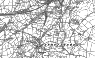 Old Map of Bedminster Down, 1902