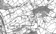Old Map of Bedmond, 1896 - 1897