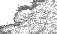 Old Map of Beeny, 1905