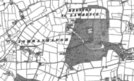 Old Map of Beeston St Lawrence, 1884 - 1885