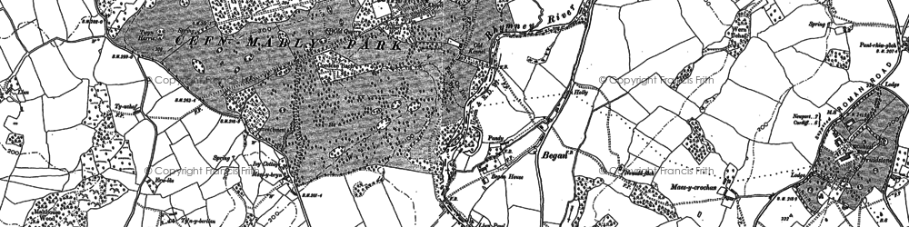 Old map of Began in 1899