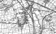 Old Map of Beighton, 1890 - 1902