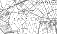 Old Map of Belby Hall, 1889