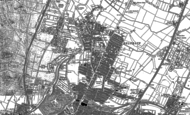 Old Map of Belgrave, 1898