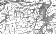 Old Map of Beltingham, 1895