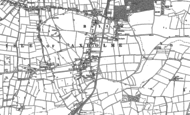 Old Map of Belton, 1885 - 1905