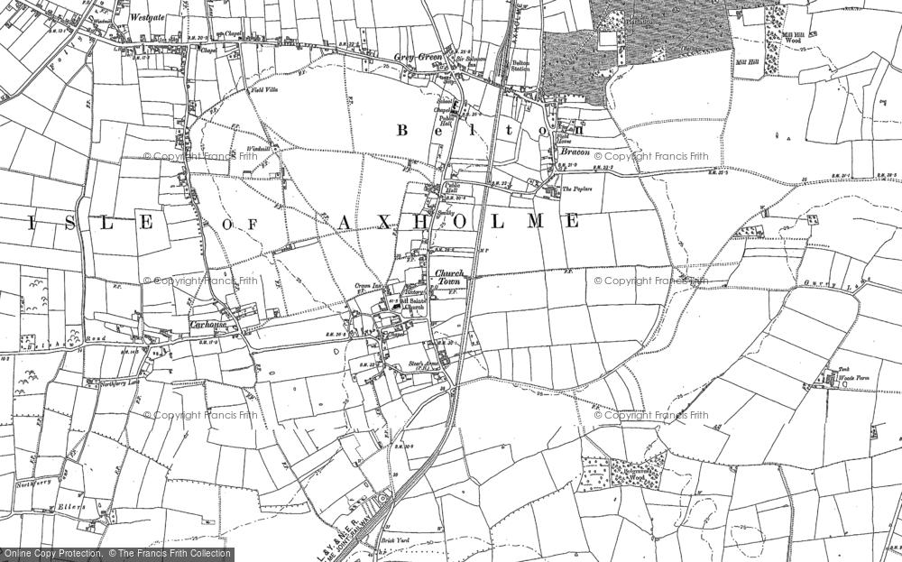 Belton, 1885 - 1905