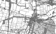 Old Map of Belton, 1887