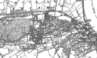 Old Map of Belvedere, 1895 - 1907