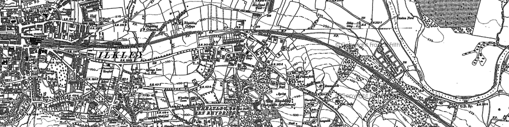 Old map of West Park Wood in 1907