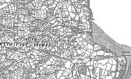 Old Map of Benllech, 1888 - 1899