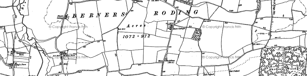 Old map of Whaypules in 1895
