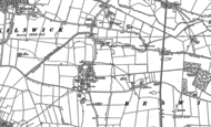 Old Map of Beswick, 1890
