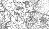 Old Map of Bettisfield, 1874 - 1899