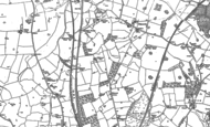 Old Map of Betton Wood, 1879