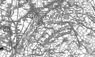 Old Map of Betws, 1905