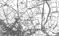 Old Map of Beverley, 1853 - 1891