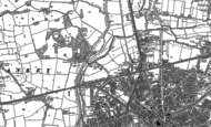 Old Map of Bewsey, 1891 - 1905