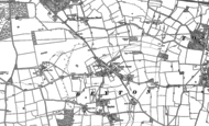 Old Map of Beyton, 1883