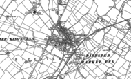 Old Map of Bicester, 1898