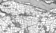 Old Map of Bickington, 1886 - 1887